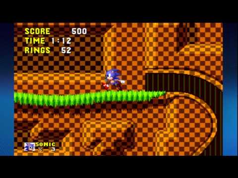 Sonic the Hedgehog 1 Green Hill Zone Secrets with Trophy Tips!