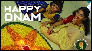 Authentic Kerala Onam Special Celebration Video | Sadya Serving Steps
