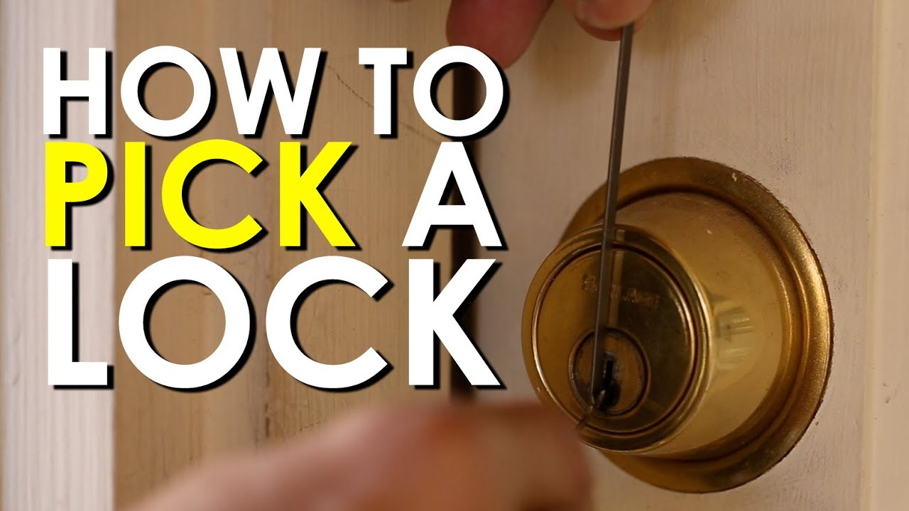 How to Pick a Lock  The Art of Manliness  YouTube