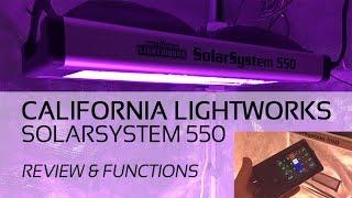 California Lightworks SolarSystem 550 LED Grow Light Review