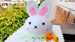 chocolate cake decorating vanilla (476) Học Làm Bánh Kem Con Thỏ (476)