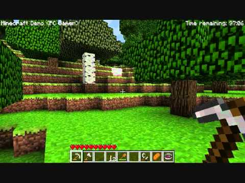 Minecraft pc gamer demo youtube for Mine craft free demo