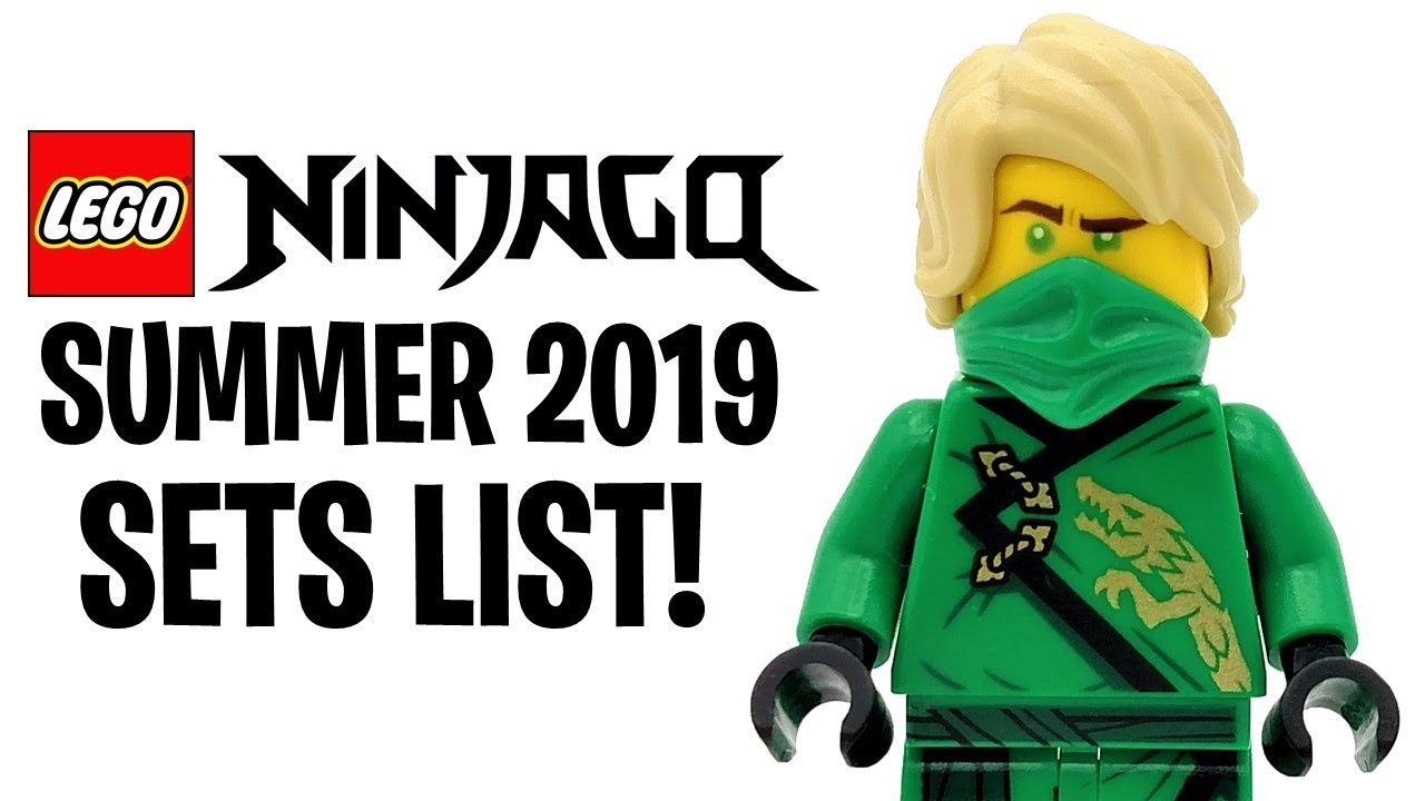 Lego Ninjago Summer 2019 Sets List Revealed Season 11 Youtube