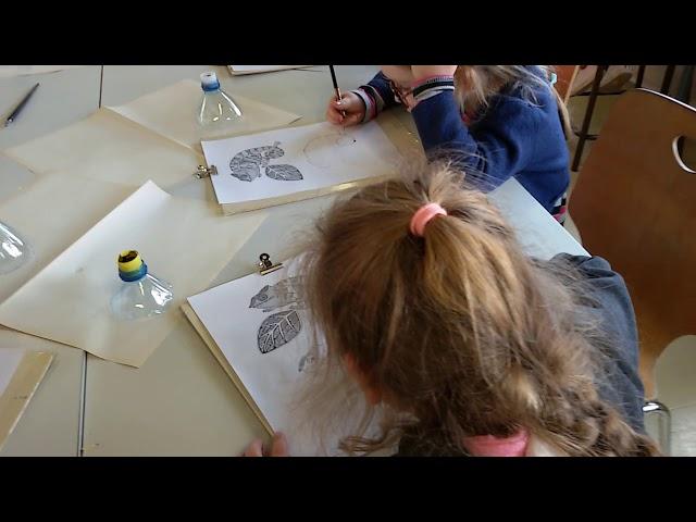 Рисование с Екатериной Доценко в школе