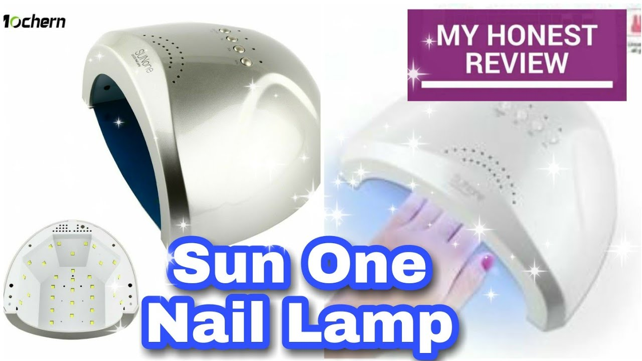 Sun One Nail Lamp ¿Secado en 30 segundos? Aquí la probamos. ☑️ Sun One Nail Lamp REVIEW