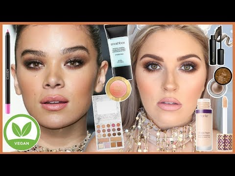 VEGAN Makeup Tutorial 🐰💕 Hailee Steinfeld Grammys Inspired