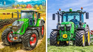 Farming Simulator Game VS Real Life Farming.. What's The Difference screenshot 3