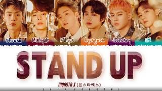 Baixar MONSTA X  - 'STAND UP' Lyrics [Color Coded_Han_Rom_Eng]