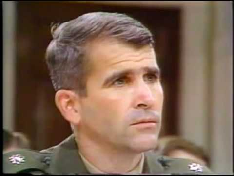 Iran-Contra Hearings - Oliver North Testimony (1987)