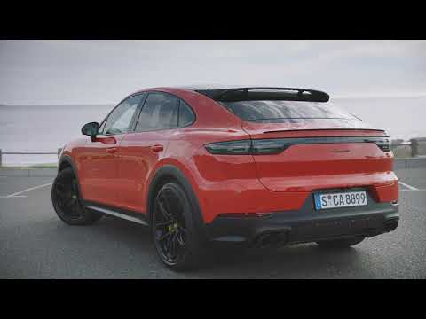 Porsche Cayenne Coupé Design Preview