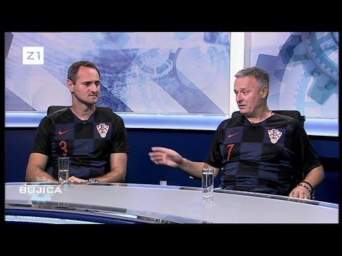 BUJICA 09.07.2018. EKSKLUZIVNO: MARKO PERKOVIĆ THOMPSON I JOSIP JOE ŠIMUNIĆ PODRŽALI VATRENE!