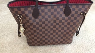 My Louis Vuitton Neverfull MM Damier Ebene IS Ruined|So Mad Right Now!!!!!!