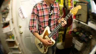 J Mascis Squier Jazzmaster Demo/Review with a Fender Musicmaster Bass Amp