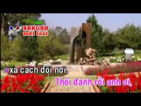 Karaoke [TAN CO] Trách anh đa tình - song ca Xakura