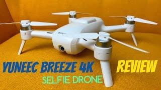 Yuneec Breeze 4K Selfie Camera Drone REVIEW - DJI Mavic Alternative(Product link: http://amzn.to/2e7hQSB Ampman23 Yuneec Breeze 4k First Impression: https://youtu.be/Sb6VXSO5yUw Easy to use beginner drone with plenty of ..., 2016-10-13T12:00:02.000Z)