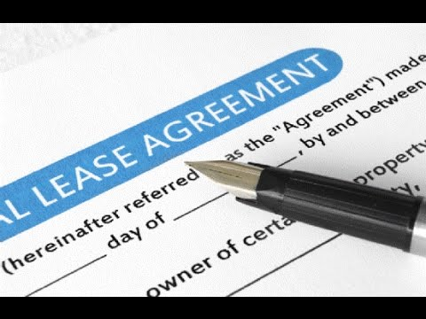 Commercial Rental Agreement Format Template Legalraasta Youtube