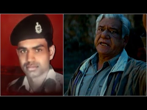 Actor Om Puri Insults The Martyrdom Of Soldiers