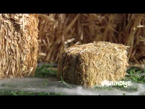 Perfect for Fall Harvest - Straw Bales - Shindigz Party Decorations