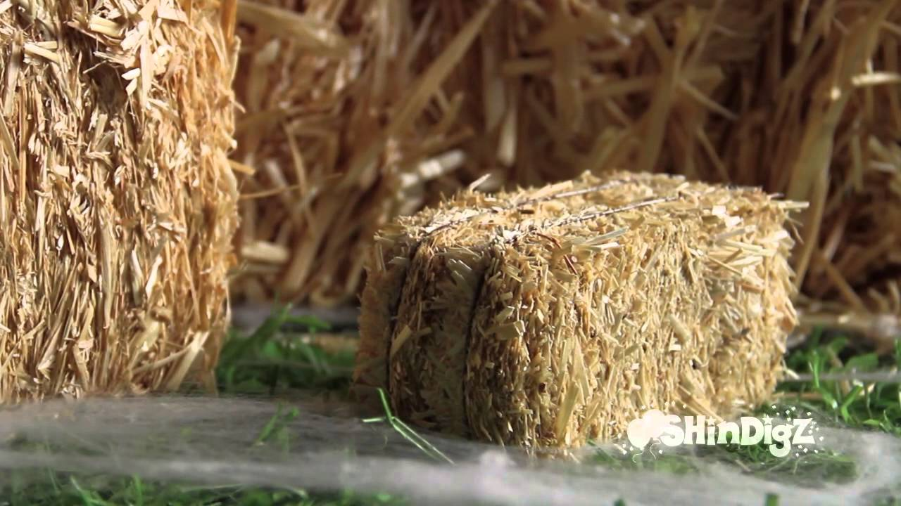 Perfect For Fall Harvest Straw Bales Shindigz Party Decorations