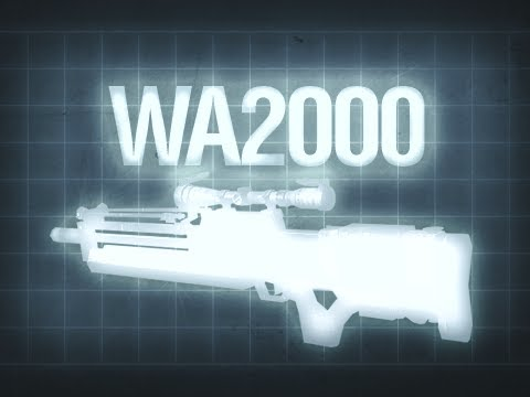 WA2000 - Black Ops Multiplayer Weapon Guide