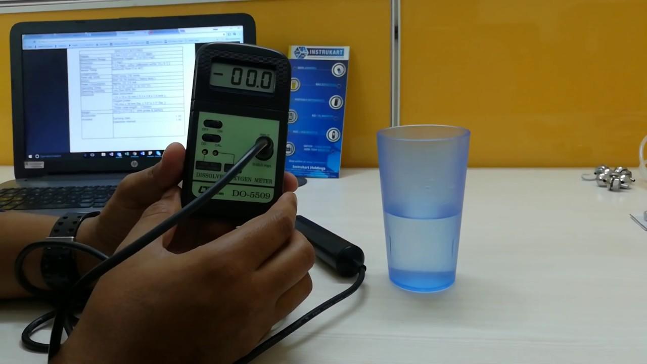 Dissolved Oxygen Do Meter Lutron 5509 Daftar Update Harga Wa 2017sd Monitor