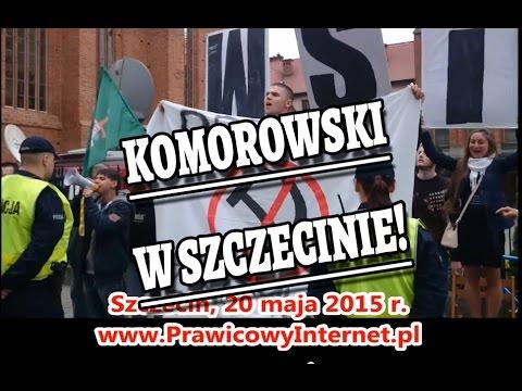 Przywitanie Prezydenta Komorowskiego W Szczecinie - 20 Maja 2015