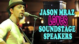 Jason Mraz Loves the Line 6 StageSource Speakers that we use!!