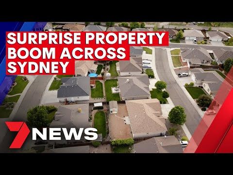 Unexpected property boom with house prices soaring across Sydney   7NEWS