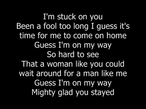 Lionel Richie  Stuck On You with lyrics