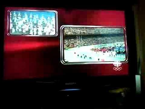 Canada Walking Into Olympic Stadium - Beijing 2008