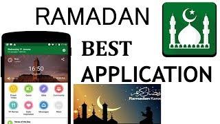 Best Application For RAMADAN- Very Useful App