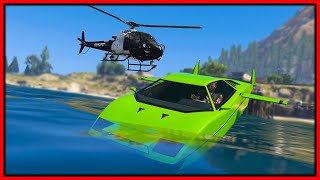 GTA 5 Roleplay - submarine car trolling cops | RedlineRP