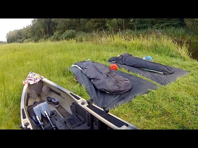 MicroAdventure Giethoorn  | Native Watercraft Ultimate 15 FX Tandem MLD Bivy Soul eVent Spirit