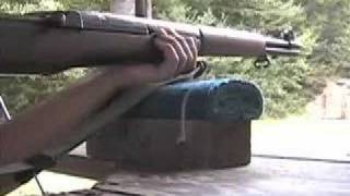 m1 garand and mauser shooting with my gramps
