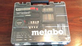 Metabo BS18 18V Akkuschrauber Set Mobile Werkstatt # Unboxing Review Deutsch