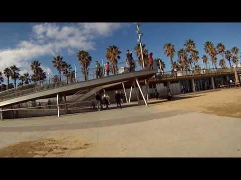 Barcelona Coastline by bike - December 2013