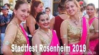 Stadtfest Rosenheim 2019 | Bollywood Tanzen Für Anfänger