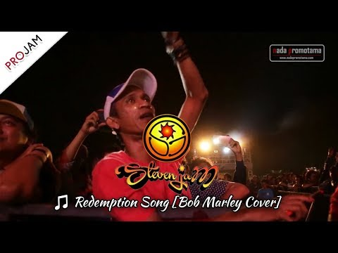 [New] Steven Jam - Redemption Song [Bob Marley Cover] | Konser PROJAM - JAKARTA 26 Agustus 2017]