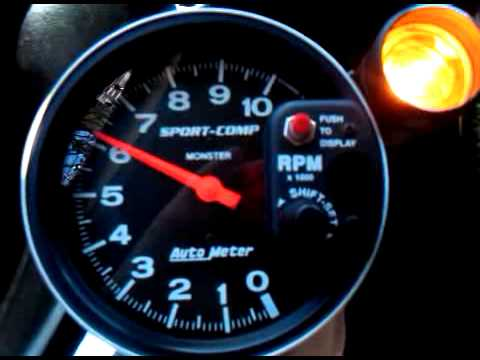 Auto Meter Sport Comp 3904 Dia 09 11 2010 Youtube Tachometer Wiring Diagrams Autometer Tach Wiring Msd Autometer Shift Light Instructions