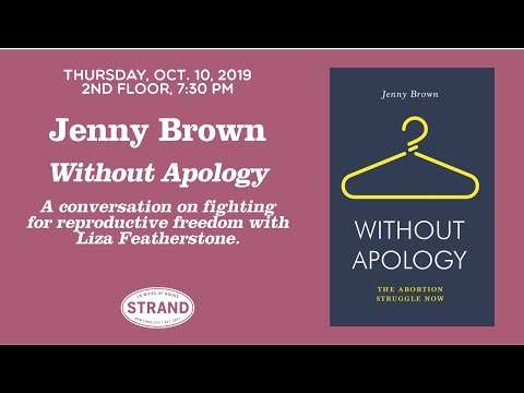 Jenny Brown | Without Apology