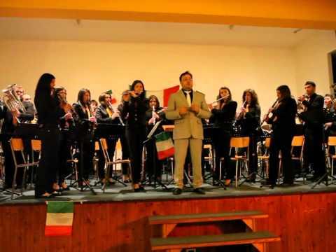 Inno di Mameli eseguito dalla banda musicale città di Calitri - 150 ...