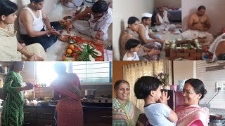 मराठी vlog ।pooja vlog. Indian lifestyle with gauri.