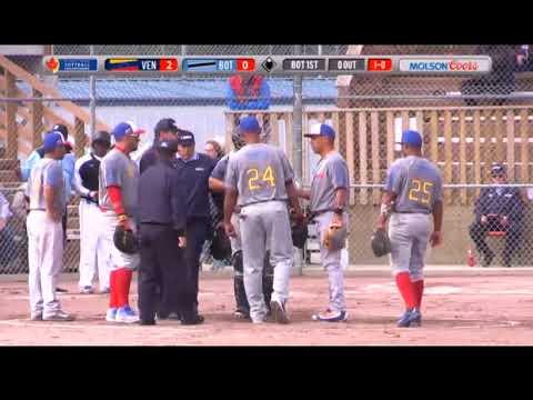 WBSC Venezuela vs Botswana (7.12.17)