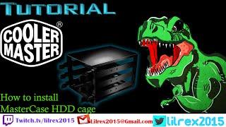 CoolerMaster Master Cage install tutorial