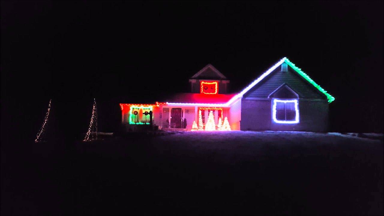 Christmas lights on renfrew 2015 jingle bells trap youtube