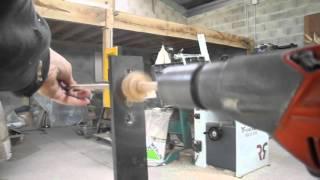 Fabriquer des chevilles de bois