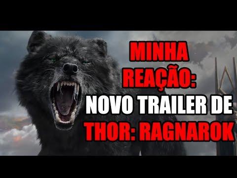 FENRIR NO NOVO TRAILER DE THOR: RAGNAROK?! VEJA MINHA REAÇÃO !!