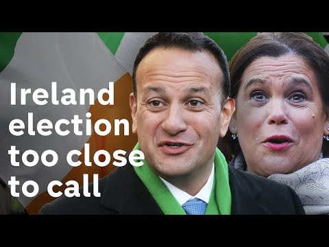 Sinn Fein leads in poll for first time ahead of Irish elections