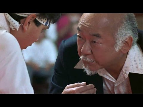 Karate Kid Part III - It's ok to lose to opponent, must not lose to fear