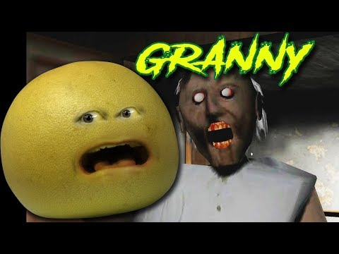 GRAPEFRUIT PLAYS GRANNY (Behind the Scenes of Annoying Orange Gaming)